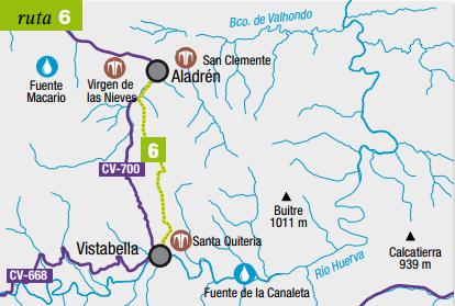 Sendero Vistabella-Aladren
