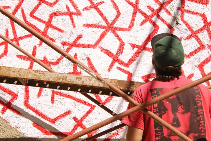 alajandro gambin artista ababol festival aladren