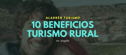 beneficios del turismo rural para Aragón