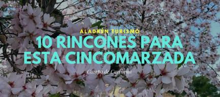 0 rincones del Campo de Cariñena cincomarzada