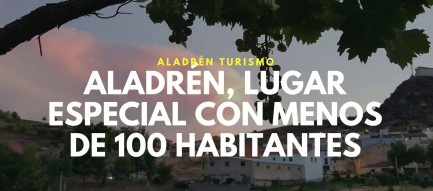 Aladrén, lugar especial con menos de 100 habitantes less than hundred