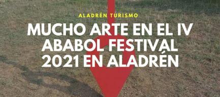 arte en el IV Ababol Festival 2021 Aladrén